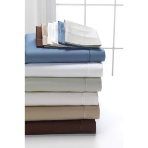 3Degree - Pima 100% Cotton Sheet Set - Dark Cocoa