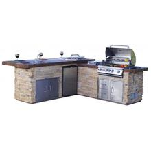 Gourmet Q - Outdoor Island Kitchen