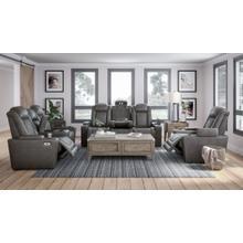 ASHLEY 9300315 9300318 9300313 Hyllmont Gray Power Reclining Sofa, Power Reclining Loveseat & Power Recliner Group