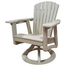 See Details - CLASSIC SWIVEL ROCKING DINING ARM CHAIR