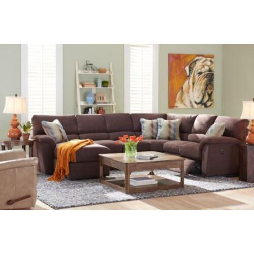 Reese 5pc Reclining Sectional