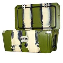 See Details - Orion 85 is our largest sized cooler, the Orion 85 can store all your quartered game, limits of large fish, a week's worth of food, or enough ice for the family reunion at the lake. Carry it on a raft, in your truck, or strapped to an army tank.