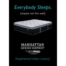 "17"" Plush Manhattan Design Mattress by Ashley (Queen Size)"