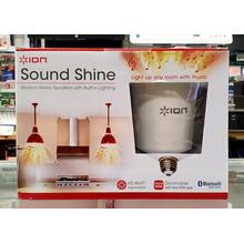 Sound Shine Wireless Stereo Speakers w/ Built-in Lighting