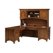 See Details - Left and Right Desk with Hutch