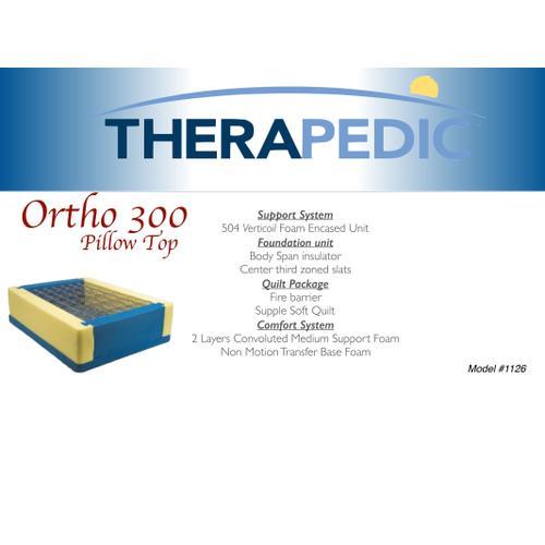 Ortho 300 Pillow Top Mattress