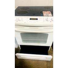 """See Details - USED- GE® 30"""" Slide-In Electric Range with Self-Cleaning Oven- G30BISTV-U  SERIAL #29"""
