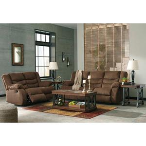 Tulen- Chocolate Reclining Sofa and Loveseat
