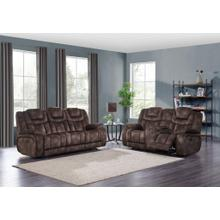 Power Console Loveseat w/ Power Headrest	 Night Range Chocolate