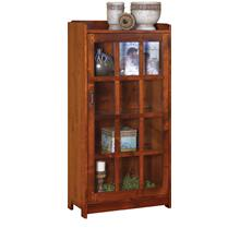 1 Door Bookcase