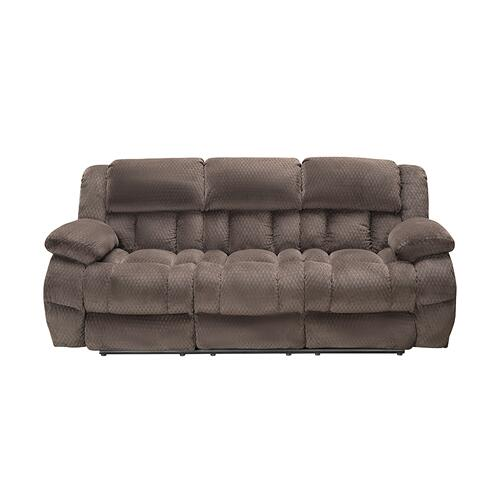 Vogue Home Furnishings - VOGUE PX2905-03 Comet Chocolate Reclining Sofa