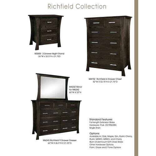 Door County Furniture - Richfield Collection