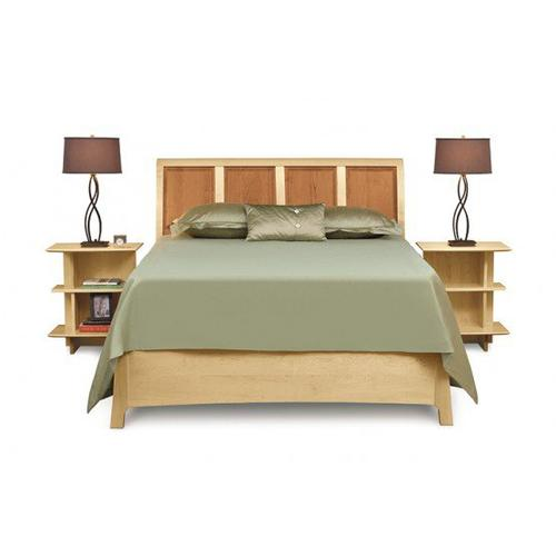 SARAH STORAGE BED NIGHTSTAND RIGHT IN NATURAL MAPLE