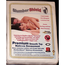 Slumber Shield Mattress Encasement-Twin