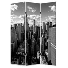 New York Skyline Screen 3 Panel Room Divider