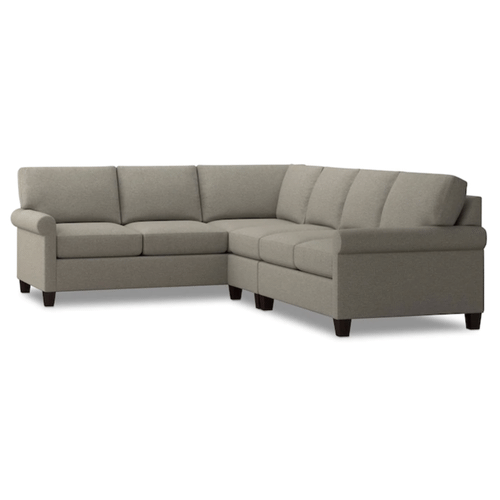 Spencer Right Sectional - Dove Fabric