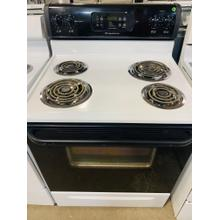 USED- Electric Coil Range w/ Self Clean Oven- E30WHCOIL-U SERIAL #8