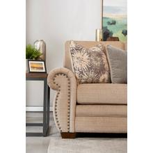 Wood House Upholstery Auburn Chair- Showbiz Stone
