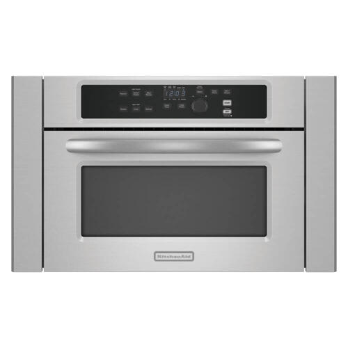 "Kitchenaid 24"" Stainless Steel Built In Microwave"