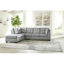 2 PC Sectional Sofa with Chaise