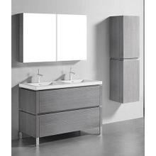 """Product Image - METRO 48"""" VANITY ONLY - ASH GREY"""