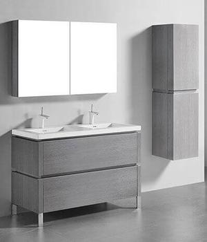 """METRO 48"""" VANITY ONLY - ASH GREY Product Image"""