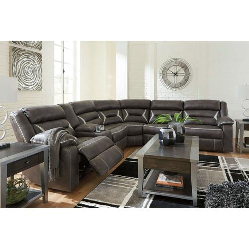 KINCORD - MIDNIGHT 4PC SECTIONAL