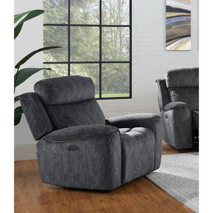 Kagan Dual Recliner Chair - Shadow Gray
