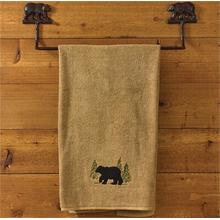 Cast Bear Towel Bar 24""