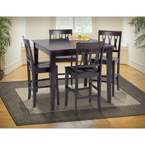 Abbie Counter Height Table/ 4 Chairs