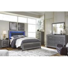 LoDanna Queen Bed Dresser and Mirror