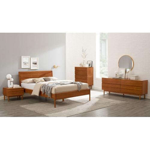 Product Image - Ventura Queen Size Platform Bed, Amber