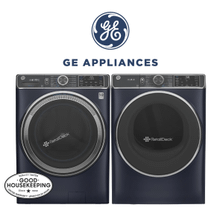 View Product - GE Front Load Pair Sapphire Blue W/ UltraFresh Vent System!