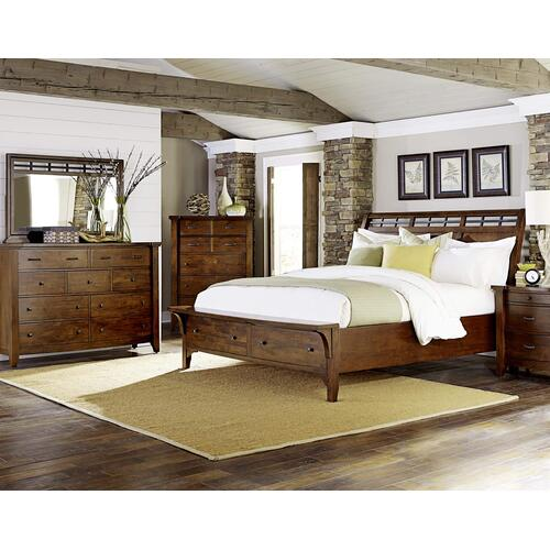 Whistler Retreat Queen Storage Bed