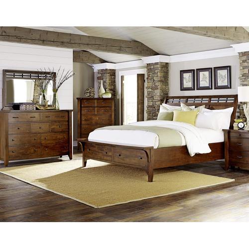 Whistler Retreat King Storage Bed
