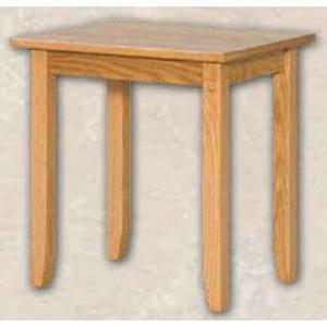 Ebersol Furniture - Oak Shaker End Table