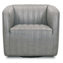See Details - Leather Swivel Chair