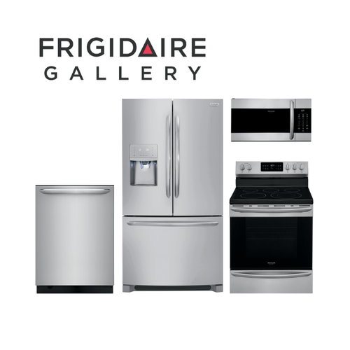 Frigidaire Gallery 4 Piece Stainless Steel Kitchen Package