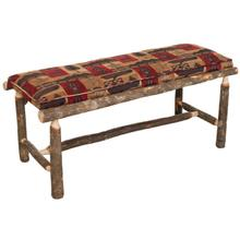 Hickory 3.5' Upholstered Bench