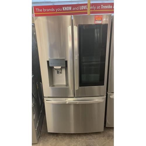 Treviño Appliance - LG French Door Smart Refrigerator w/ InstaView Door in PrintProof Stainless Steel