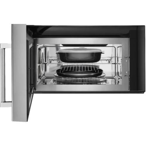 """KitchenAid - 30"""" 1000-Watt Microwave Hood Combination with Convection Cooking"""