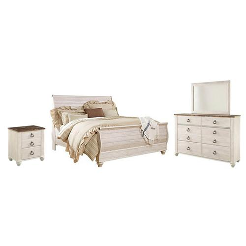 Willowton Queen Sleigh Bedroom Package