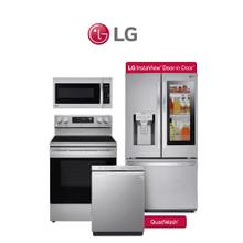 LG 4 Piece Stainless Package. Price Valid Thru 9/30/20