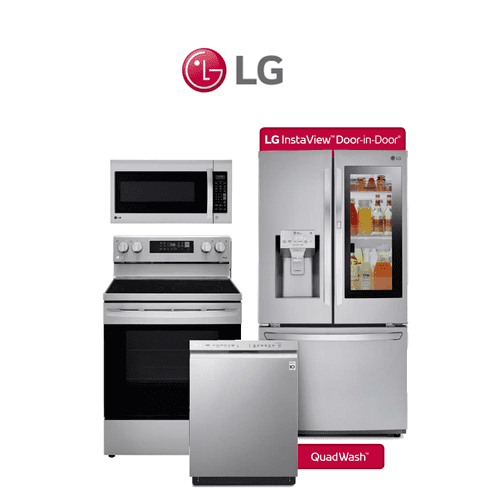 LG 4 Piece Stainless Package. Price Valid Thru 6/20/21