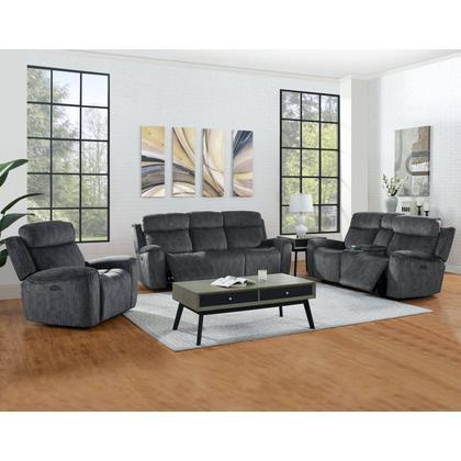 Kagan Reclining Sofa & Loveseat - Shadow Gray