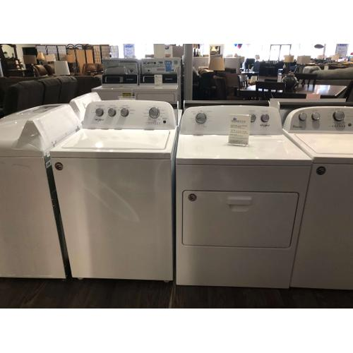 Whirlpool 3.9 CF Washer with Impeller and 7.0 CF Dryer