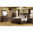 9Pc. Jax Rustic Queen Storage Bedroom Group Product Image