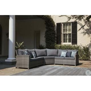 Salem Beach Gray Sectional