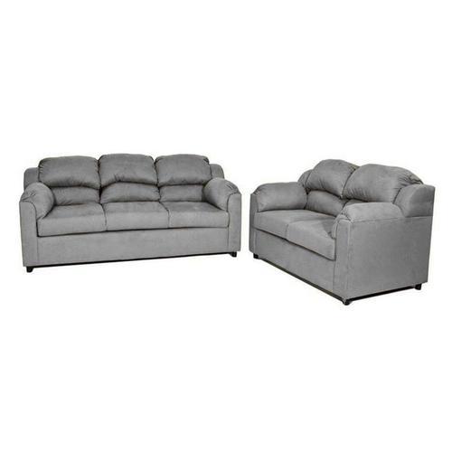 V-dub Furniture - 2 Piece Sofa & Love Seat Grey