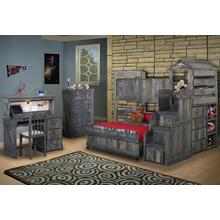 See Details - The Fort - Loft Bed